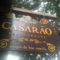 Photo taken at Casarão by Wallace M. on 4/27/2013