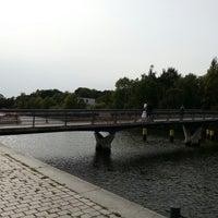 Photo taken at Liebesbrücke by Frank D. on 9/21/2012