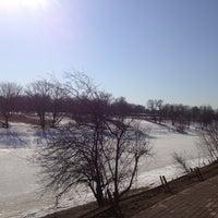 Photo taken at Черкизовский парк by Anna K. on 4/13/2013