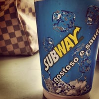 Photo taken at Subway by Ana Lydia on 2/21/2013