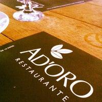 Photo taken at Ad'oro by Ana Lydia on 2/26/2013
