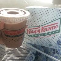 Photo taken at Krispy Kreme Doughnuts by Verissa Rana K. on 7/10/2016
