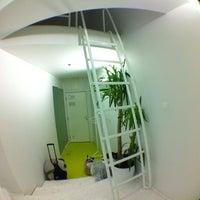Photo taken at Goli + Bosi Design Hostel by Olga S. on 9/28/2012