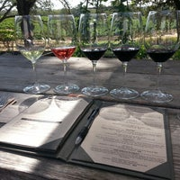 Photo taken at Medlock Ames Tasting Room by Michelle J. on 9/1/2014