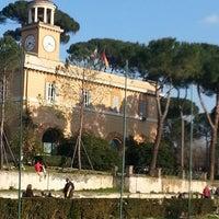 Photo taken at Piazza Di Siena by Mina on 2/16/2013