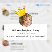 Photo taken at Old Worthington Library by Faye O. on 10/5/2017