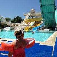Photo taken at Ela Quality Aquapark by Yulia on 7/8/2013