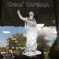 Photo taken at Chris' Taverna by Brian on 10/16/2012