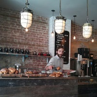 Photo taken at Kitsuné Espresso Bar Artisanal by ParisienneaMontreal on 6/24/2013