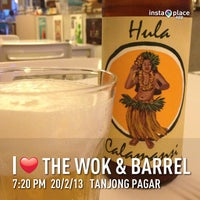 Photo taken at The Wok & Barrel by Gary G. on 2/20/2013