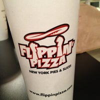Photo taken at Flippin Pizza by Erin on 1/7/2013