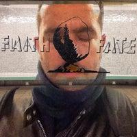 Photo taken at MTA Subway - Middle Village/Metropolitan Ave (M) by Jaime S. on 3/2/2015