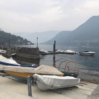 Photo taken at Lungolago di Cernobbio by Darya ⛵. on 10/6/2018