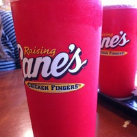 Photo taken at Raising Cane's by Joanna L. on 12/20/2012