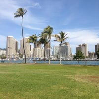 Photo taken at Magic Island by Jbo on 12/24/2012