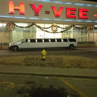 Photo taken at Hy-Vee by Mike R. on 12/1/2012