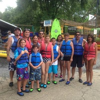 Photo taken at Toccoa River Adventures by Carolina on 7/9/2013