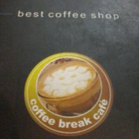 Photo taken at Coffee Break Cafe by Arga M. on 1/12/2013