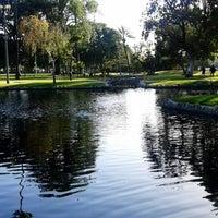 Photo taken at Pearson Park by Cynthia D. on 5/12/2014