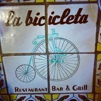 Photo taken at La Bicicleta by Ana Gaby A. on 9/15/2012