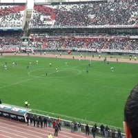 Photo taken at Estadio Monumental (River Plate) by Diego P. on 6/23/2013