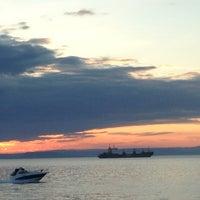 Photo taken at Пляж На Маяке by Виталий on 7/22/2013