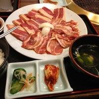 Photo taken at 安楽亭 沼南店 by Esperanza on 2/21/2013