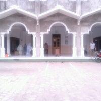 Photo taken at Masjid Jami' Nurushobah by Devi3 R. on 12/27/2012