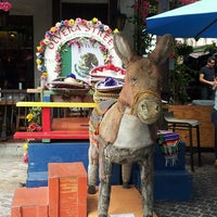 Photo taken at Olvera Street by Carmencita S. on 7/5/2013