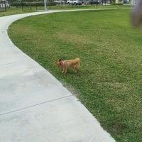 Photo taken at West Kendall Hammocks Dog Park by Carmencita S. on 2/16/2013
