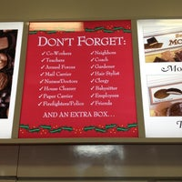 Photo taken at See's Candies by Michele on 12/24/2012