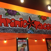 Photo taken at Chronic Tacos by Michele on 5/24/2013