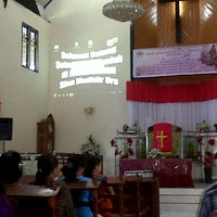 Photo taken at GMIM Sion Madidir Ure by Patter M. on 6/8/2014