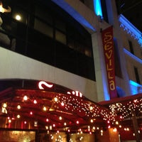 Photo taken at Cafe Sevilla by Greg D. on 5/19/2013