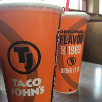 Photo taken at Taco John's by Greg D. on 7/11/2015