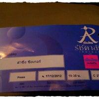 Photo taken at Muang Thai Rachadalai Theatre by Guy J. on 12/17/2012