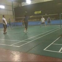 Photo taken at Grand Futsal Kuningan by Dhea on 7/12/2013