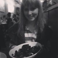 Photo taken at Orzo Kitchen & Wine Bar by Alex K. on 1/31/2014