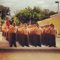 Photo taken at MCRD San Diego Museum by Christina L. on 10/18/2012