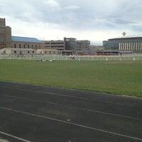 Photo taken at MSU Denver Athletic Fields by Erienne on 4/13/2013