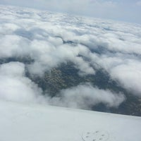 Photo taken at 35000 feet over Texas by Richard W. on 4/18/2013