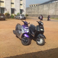 Photo taken at Canara College Parking Lot by Pooja B. on 12/4/2012