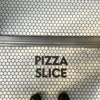 Photo taken at Pizza SLICE by Rainbeau on 5/1/2016