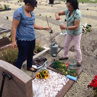 "Photo taken at Begraafplaats ""Oud Eik En Duinen"" by Sakimin K. on 7/27/2014"