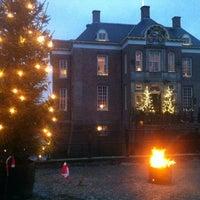 Photo taken at Kasteel Middachten by Arjen K. on 12/16/2012