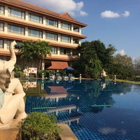 Photo taken at Imperial River House Resort Chiangrai by All Seasons on 12/27/2014