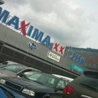 Photo taken at TC Maxima XX parking by Gatis A. on 4/29/2013