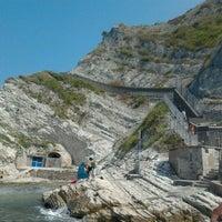 Photo taken at Grotta Azzurra by Luigi S. on 7/21/2013