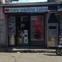 Photo taken at Mary Pauline Salon by Rj M. on 3/30/2013