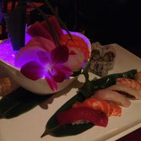 Photo taken at Kazu Japanese Restaurant by Betsy on 1/26/2013